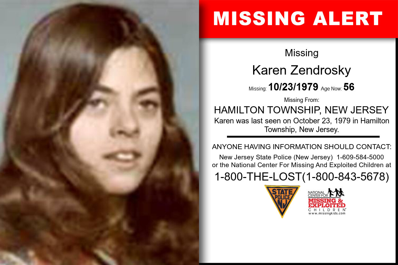 KAREN_ZENDROSKY missing in New_Jersey
