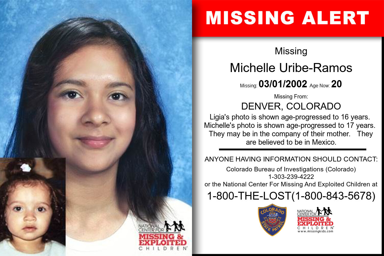 Michelle_Uribe-Ramos missing in Colorado