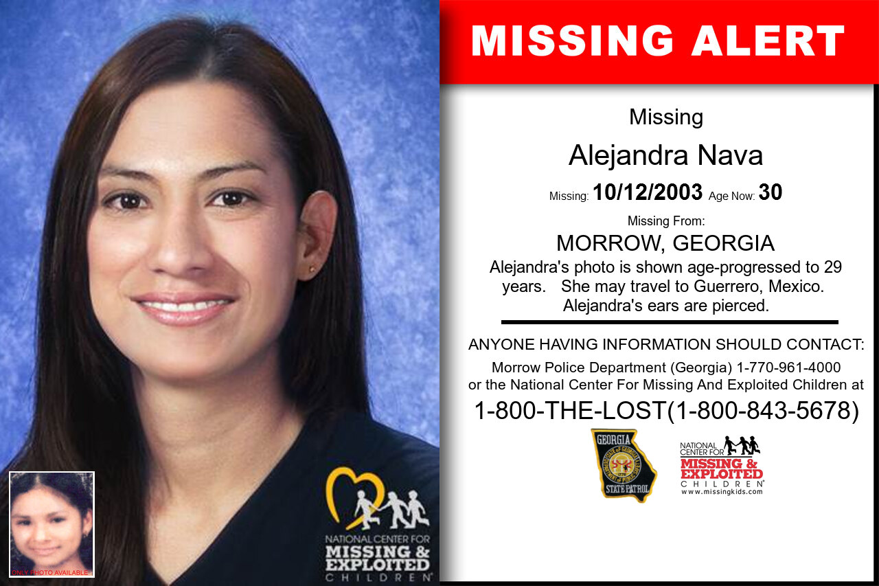 ALEJANDRA_NAVA missing in Georgia
