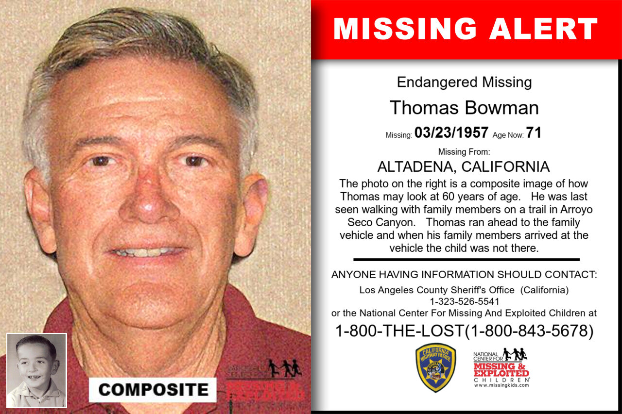 THOMAS_BOWMAN missing in California