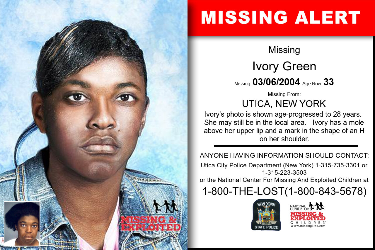 IVORY_GREEN missing in New_York