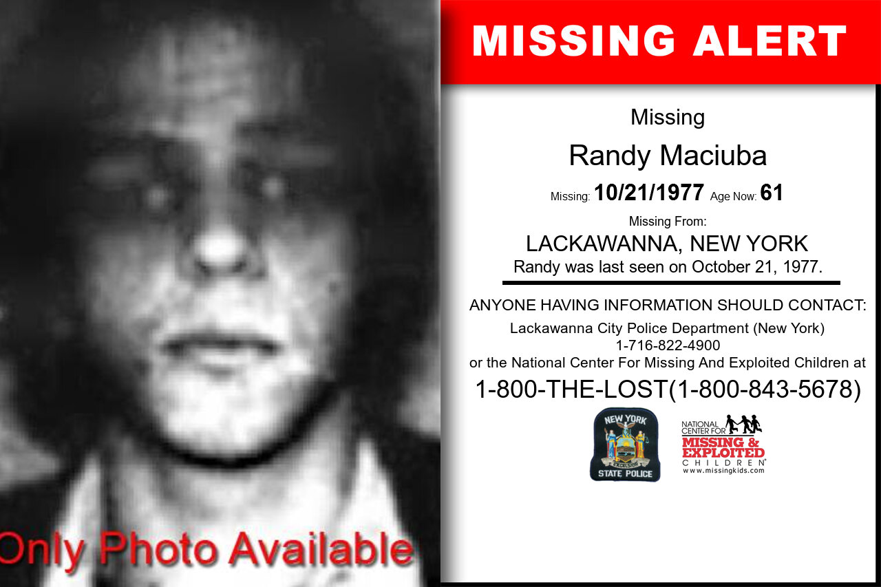 RANDY_MACIUBA missing in New_York