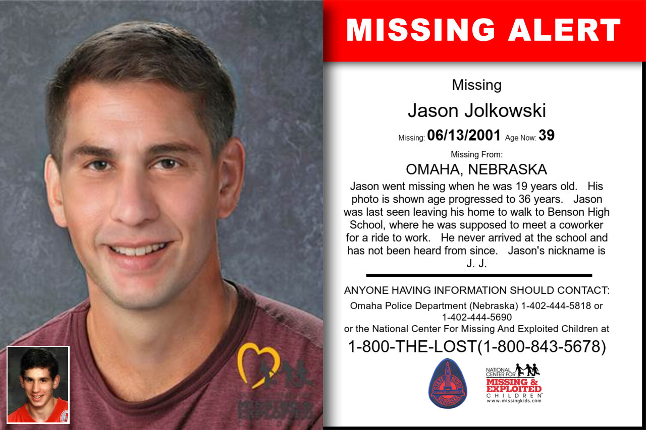 Jason_Jolkowski missing in Nebraska