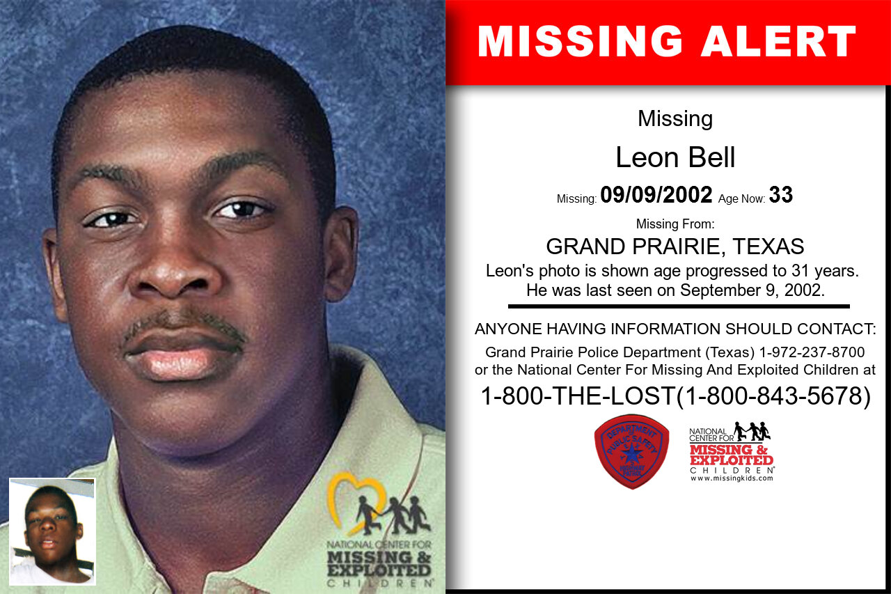 LEON_BELL missing in Texas