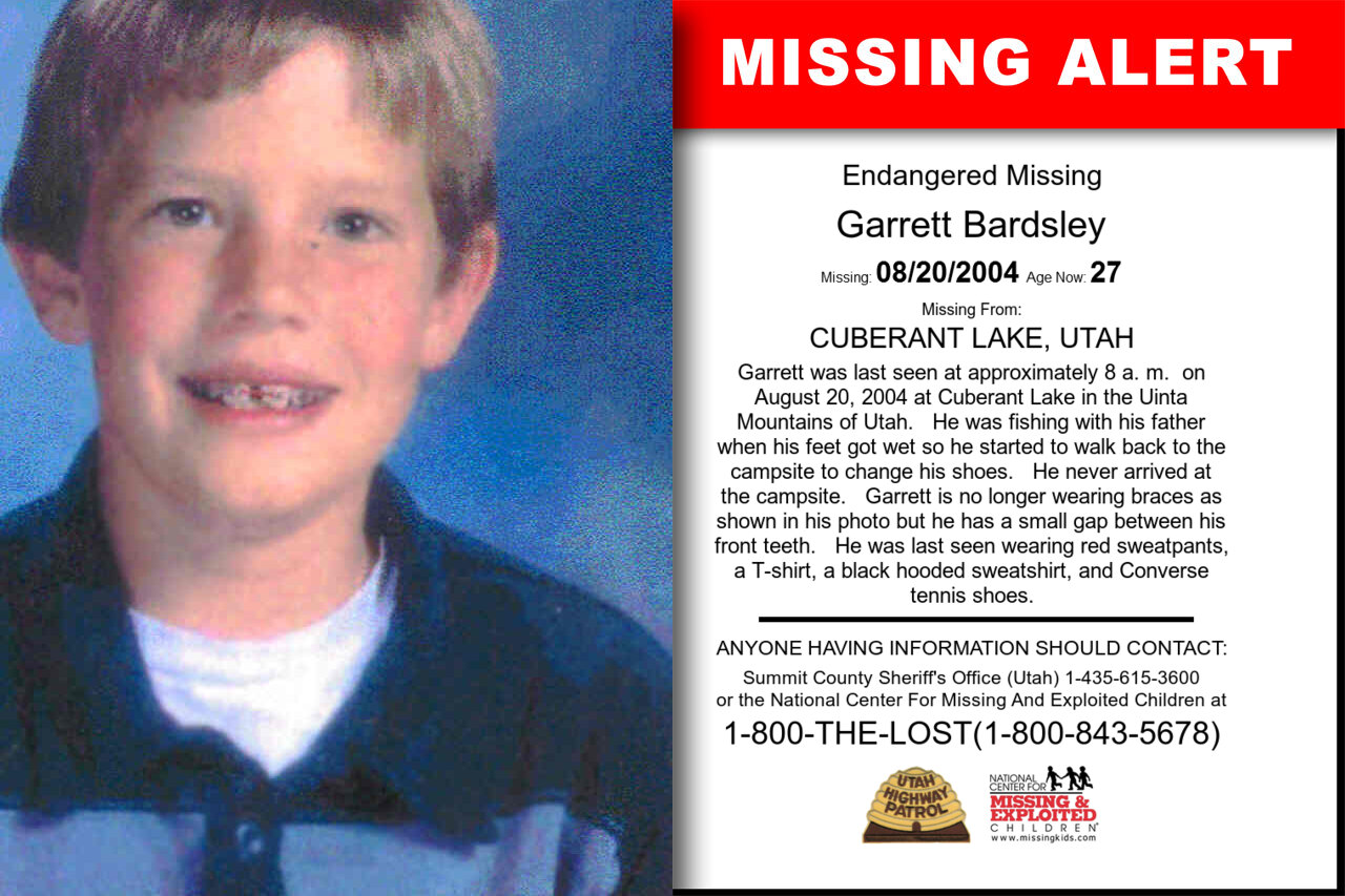 GARRETT_BARDSLEY missing in Utah