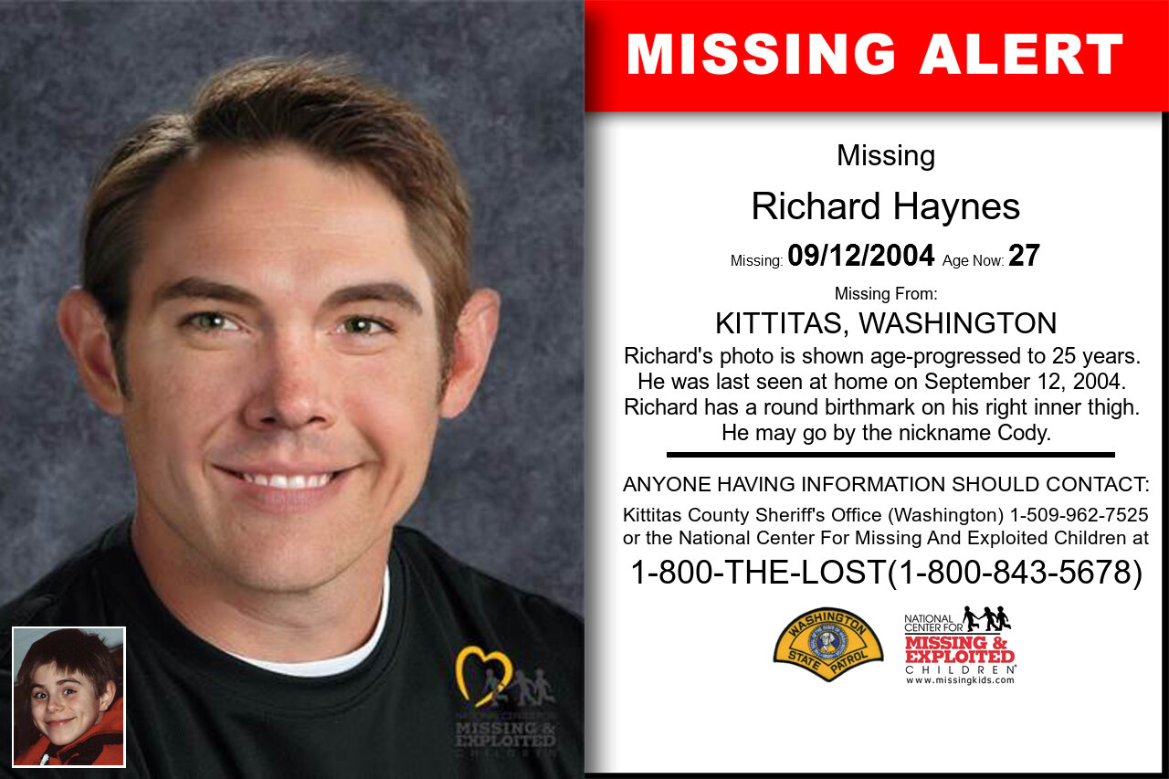 RICHARD_HAYNES missing in Washington