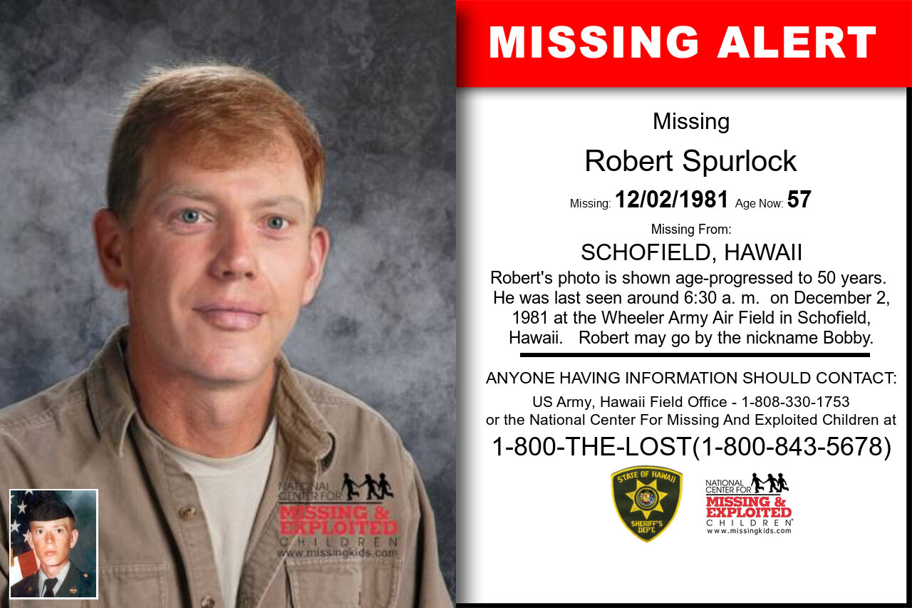 ROBERT_SPURLOCK missing in Hawaii