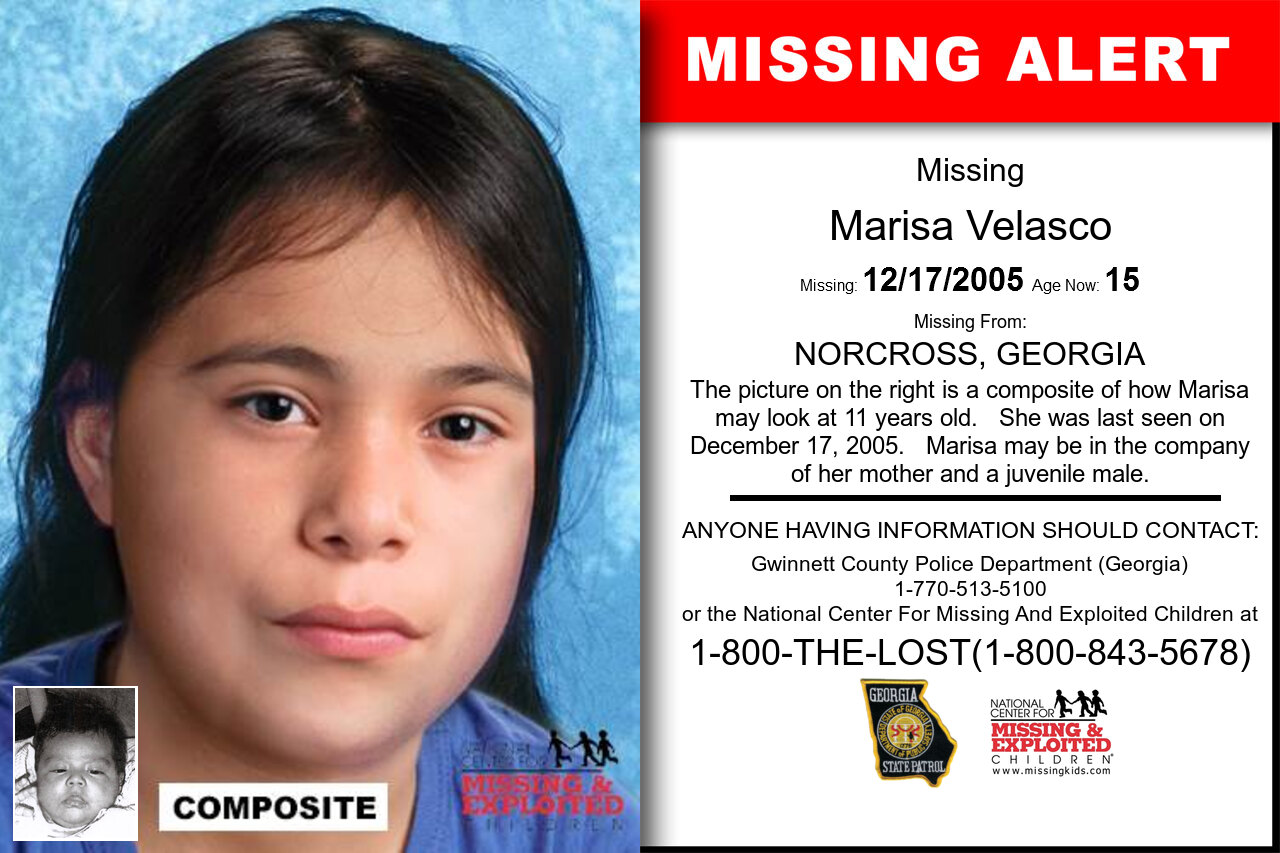 Marisa_Velasco missing in Georgia