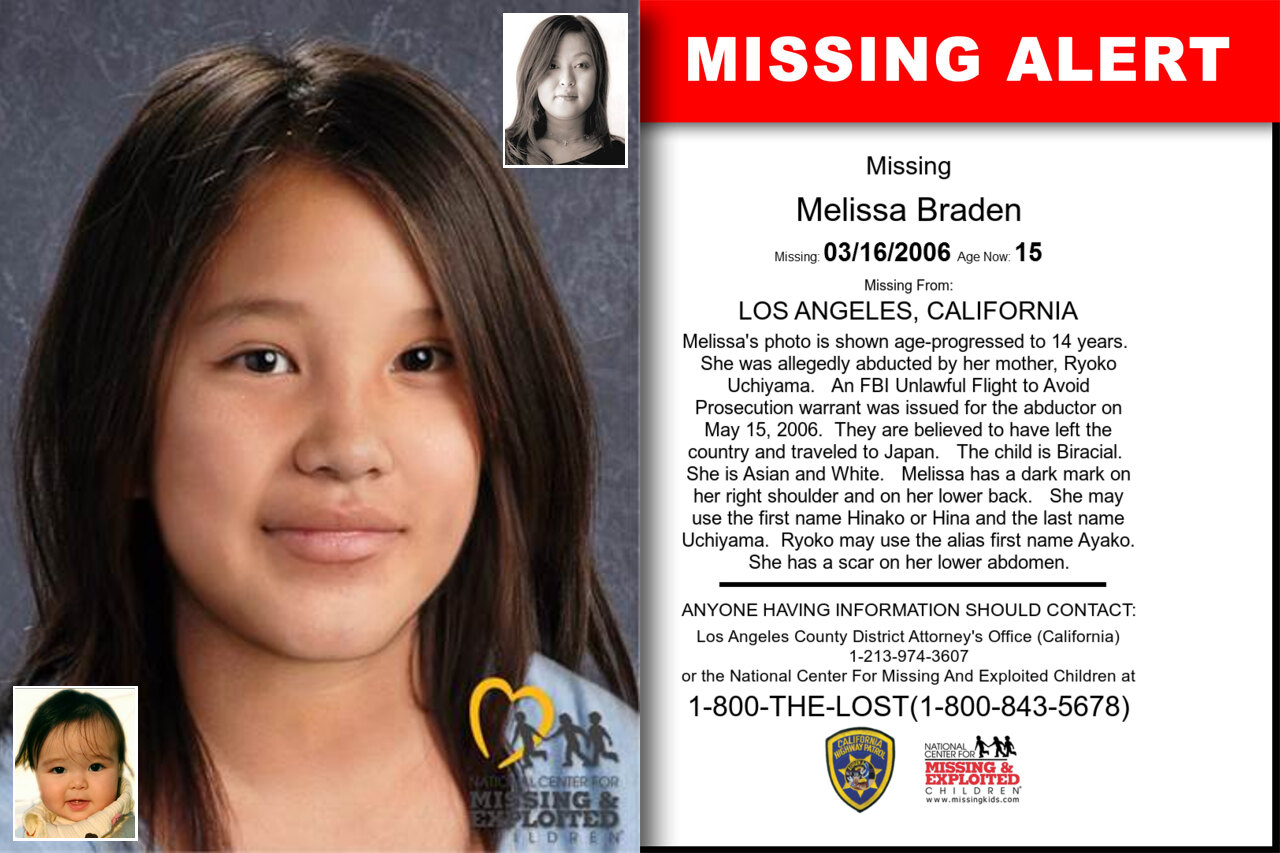 Melissa_Braden missing in California