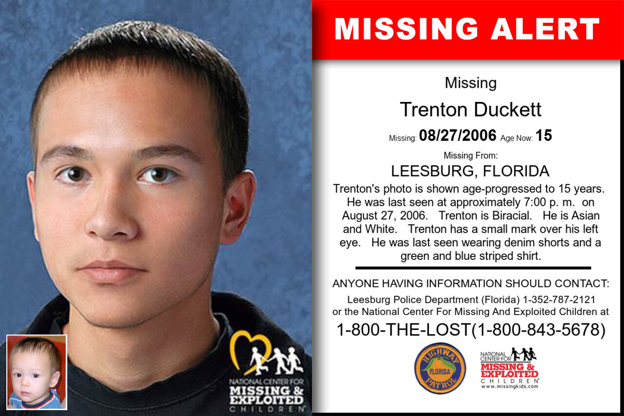 Trenton_Duckett missing in Florida
