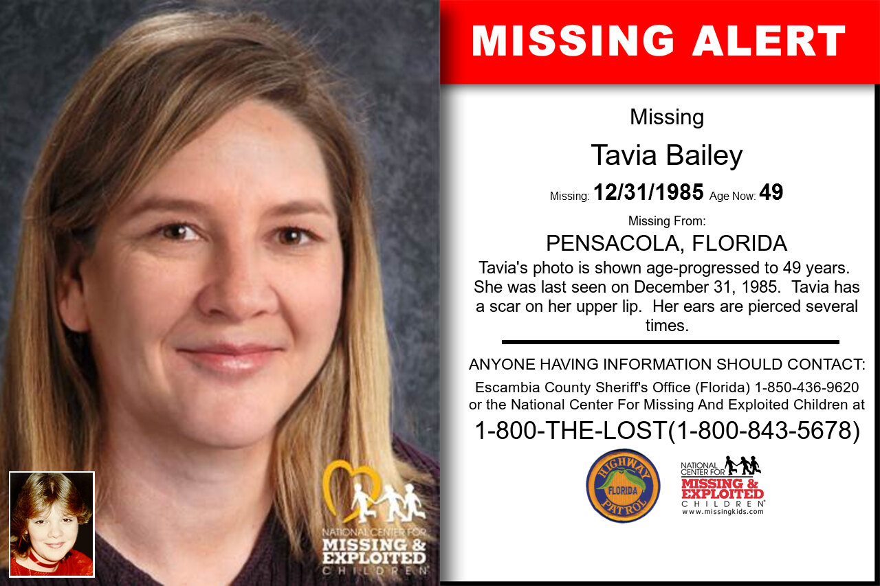 Tavia_Bailey missing in Florida