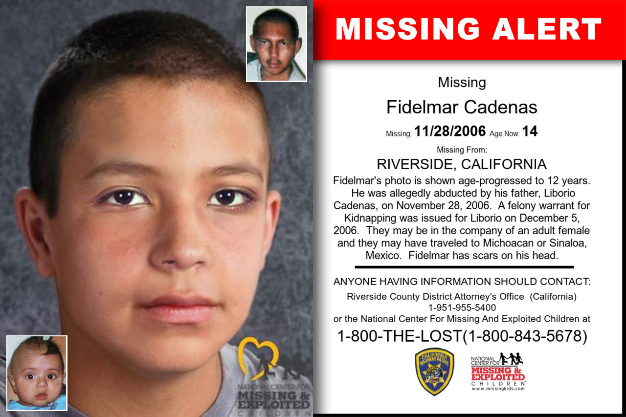 Fidelmar_Cadenas missing in California