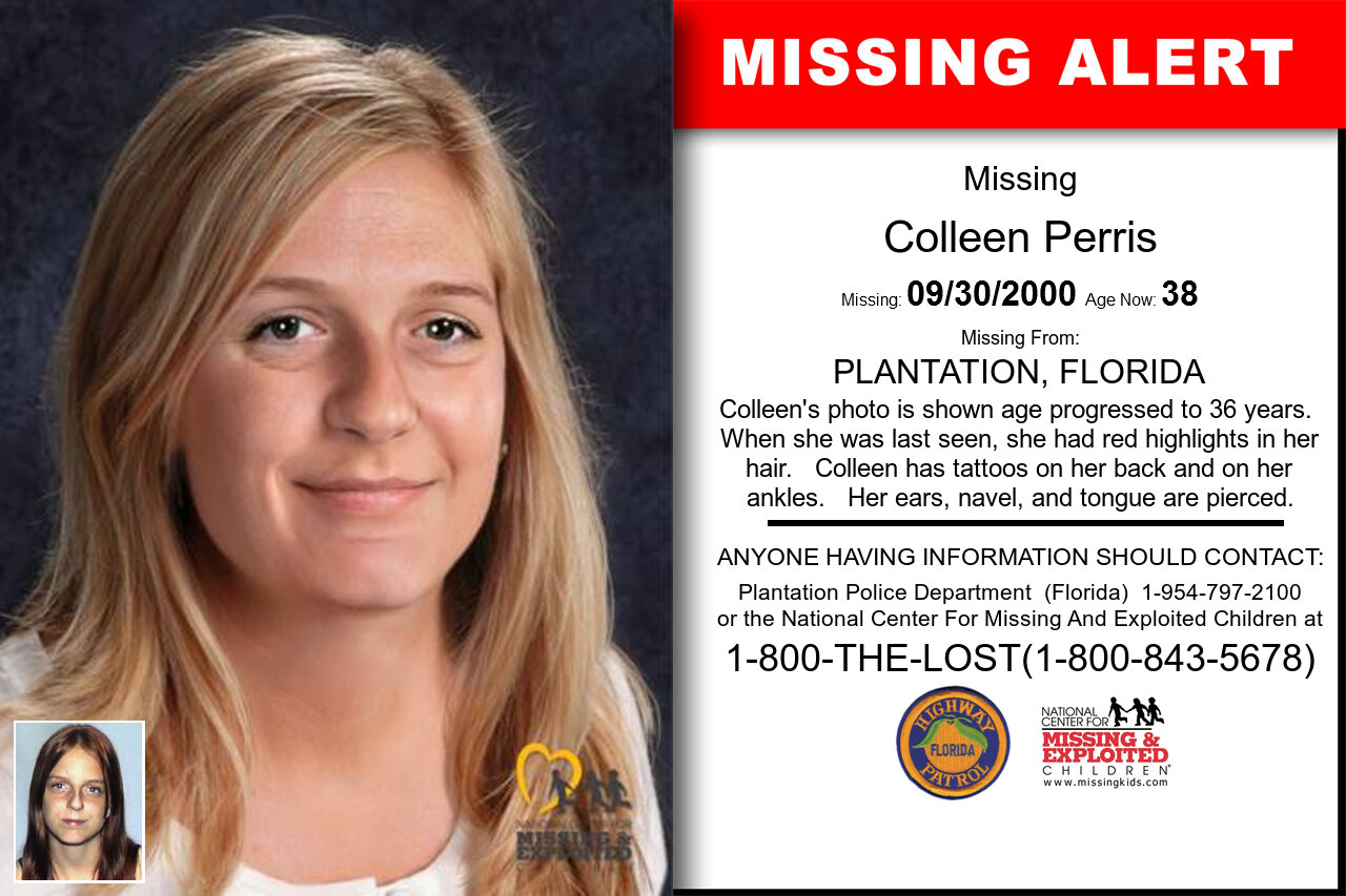 Colleen_Perris missing in Florida