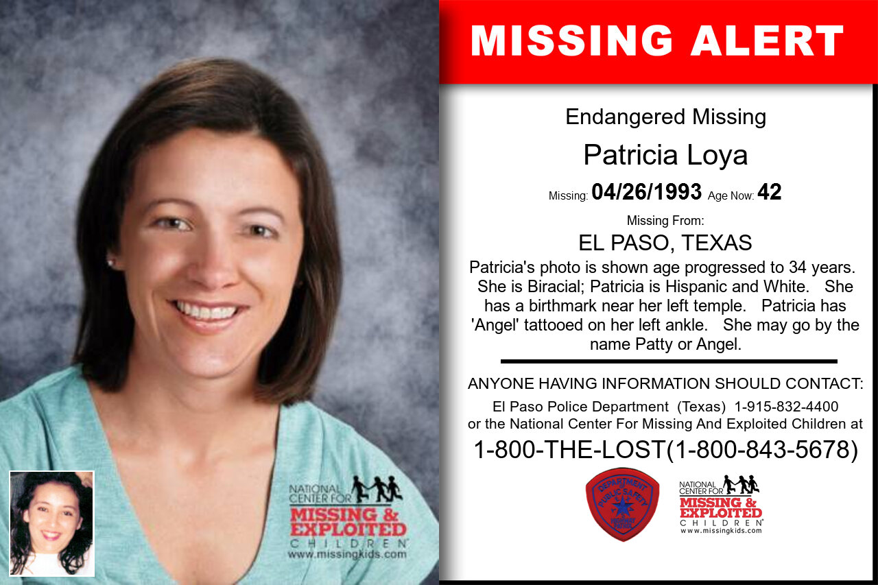 Patricia_Loya missing in Texas