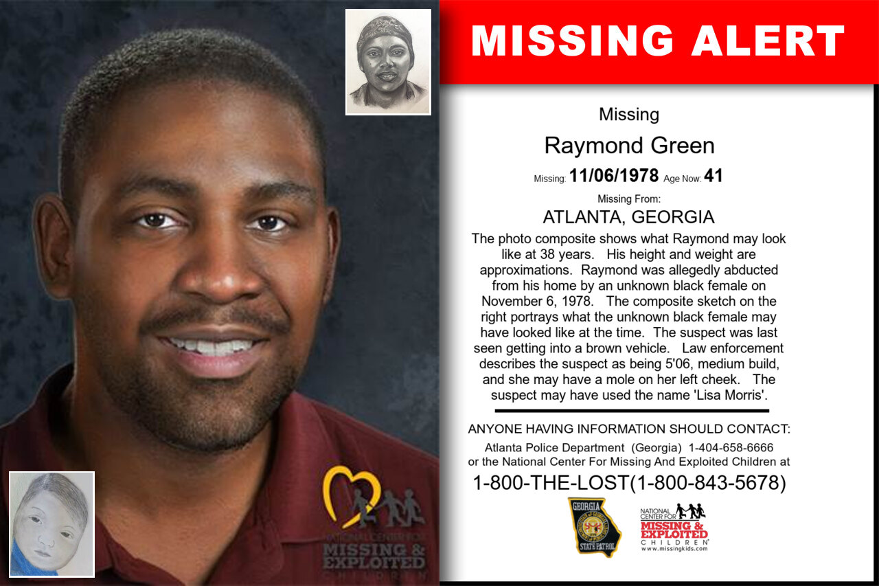 Raymond_Green missing in Georgia