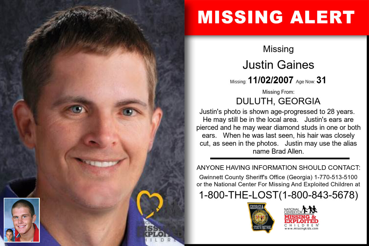 Justin_Gaines missing in Georgia