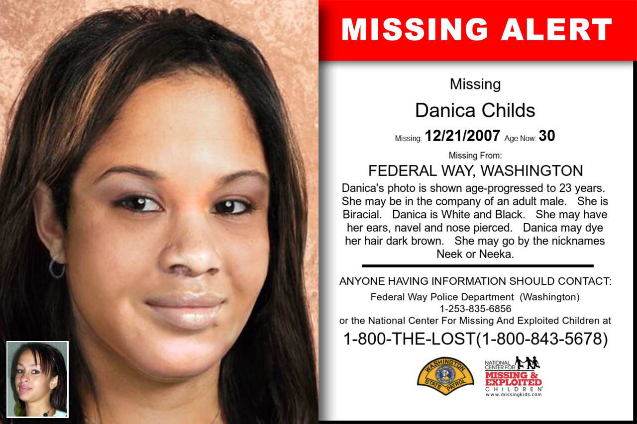 Danica_Childs missing in Washington