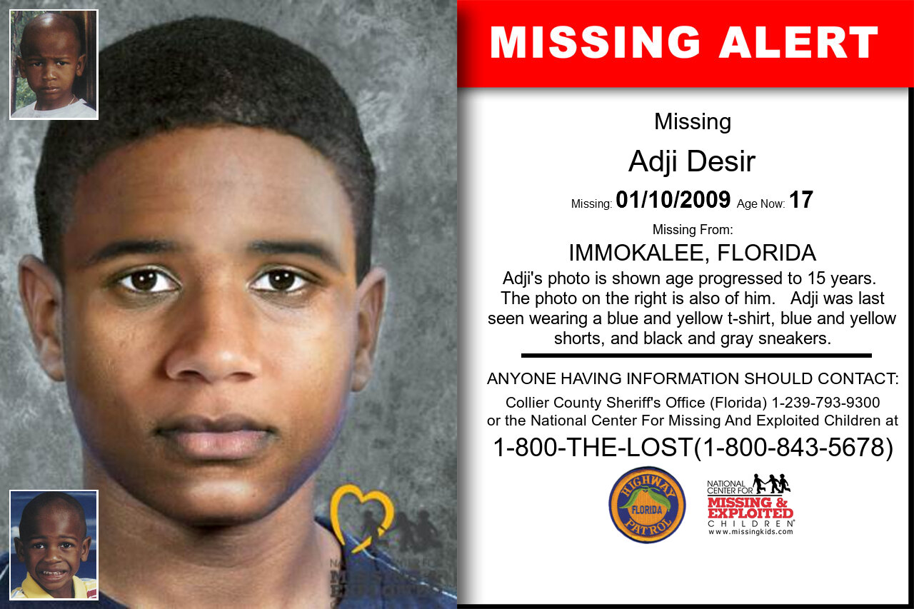 Adji_Desir missing in Florida