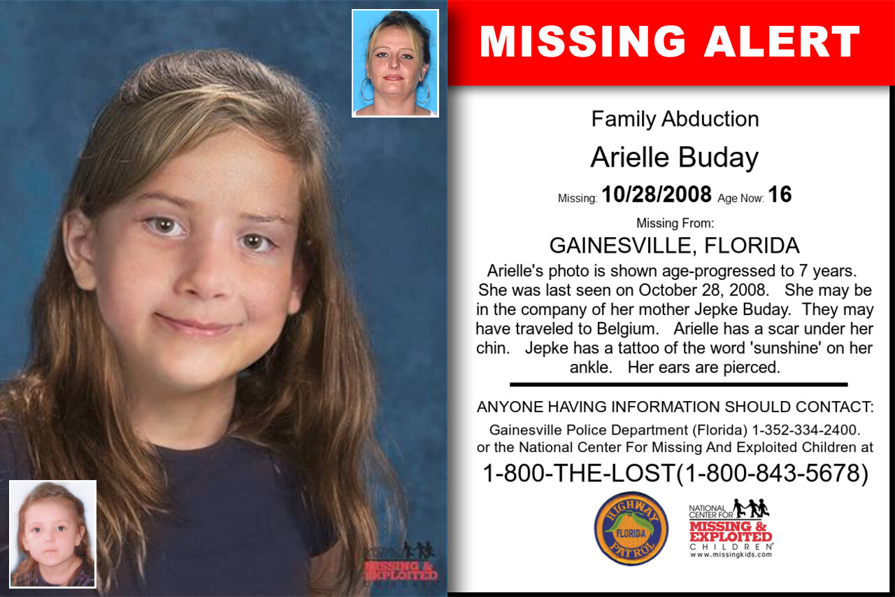 Arielle_Buday missing in Florida