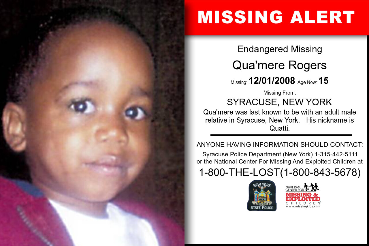 Qua'mere_Rogers missing in New_York