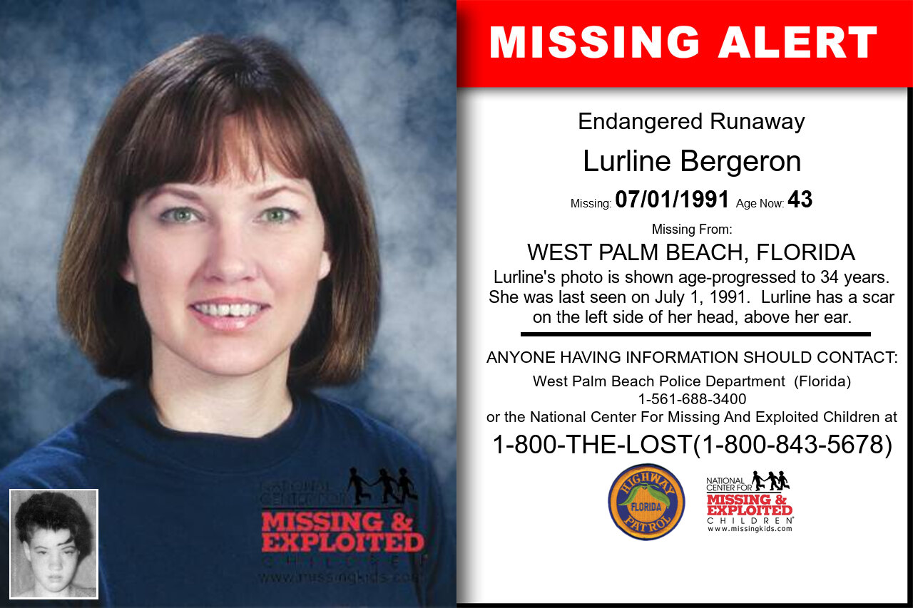 Lurline_Bergeron missing in Florida