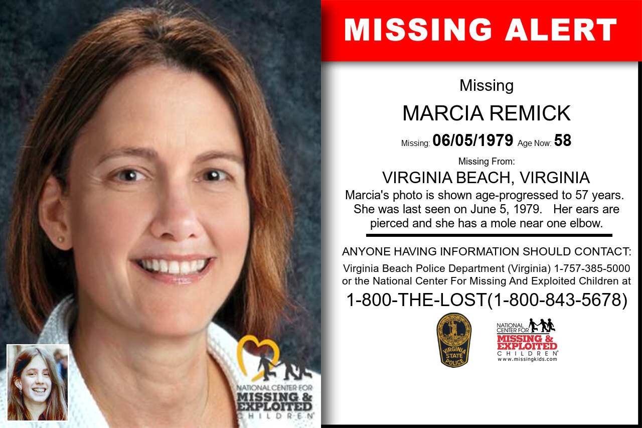 MARCIA_REMICK missing in Virginia