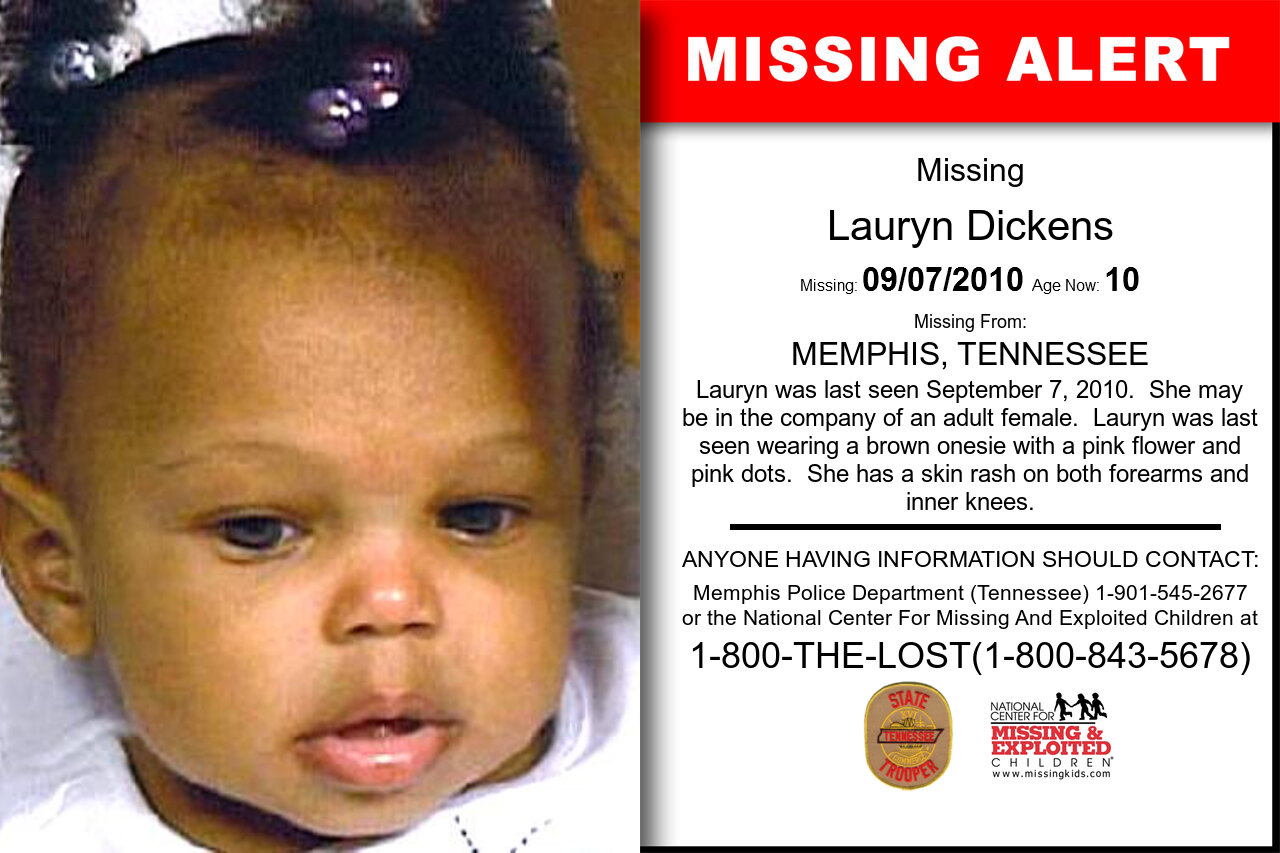 Lauryn_Dickens missing in Tennessee