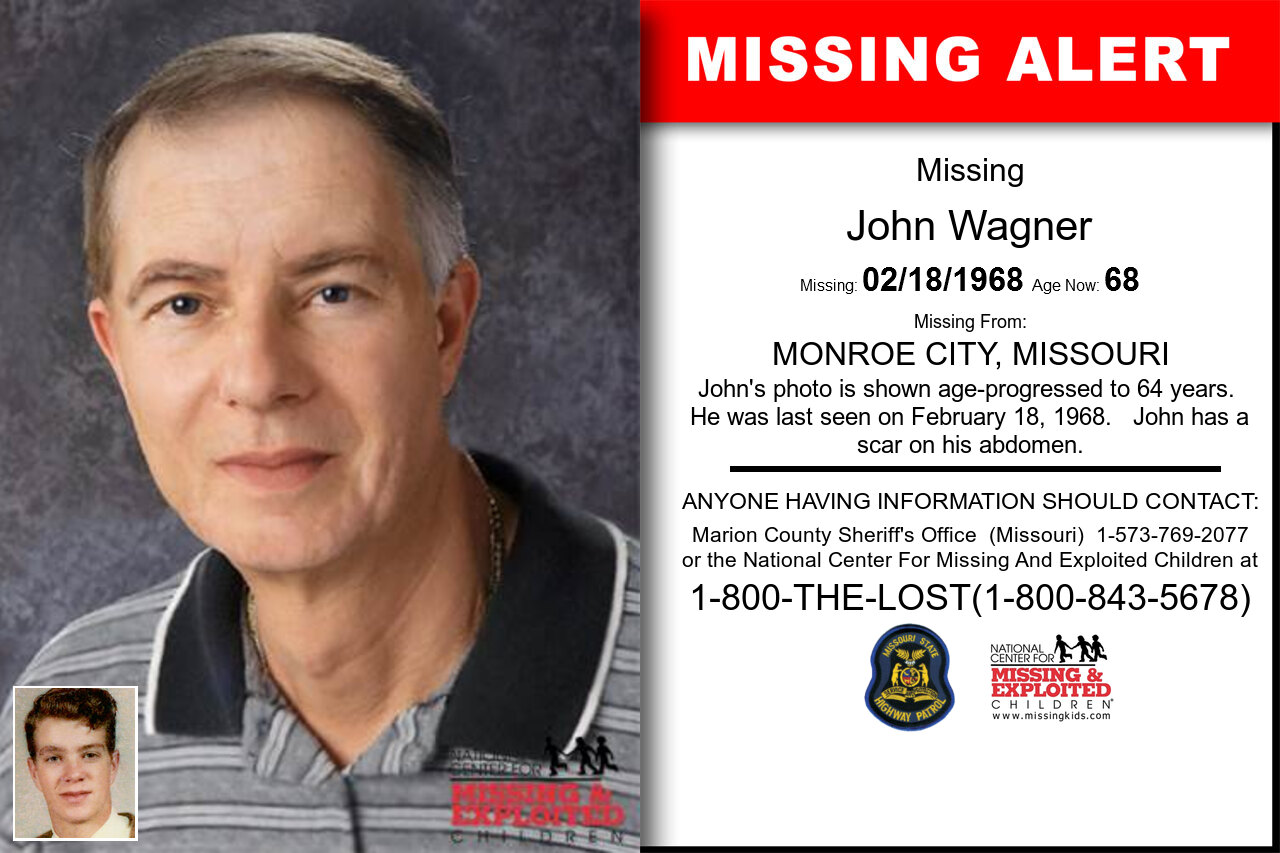 John_Wagner missing in Missouri