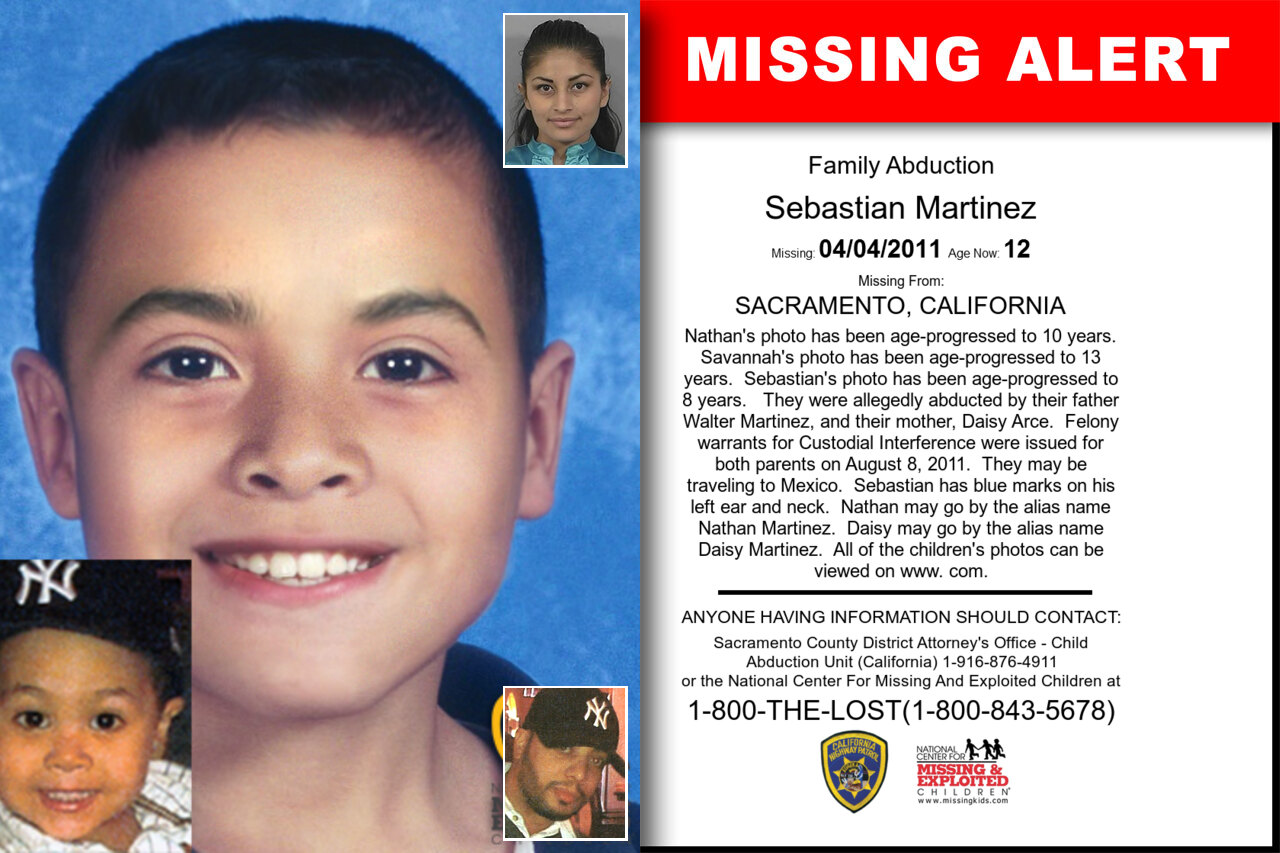 Sebastian_Martinez missing in California