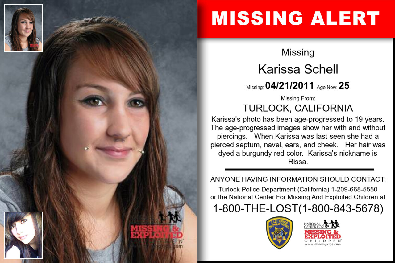 Karissa_Schell missing in California