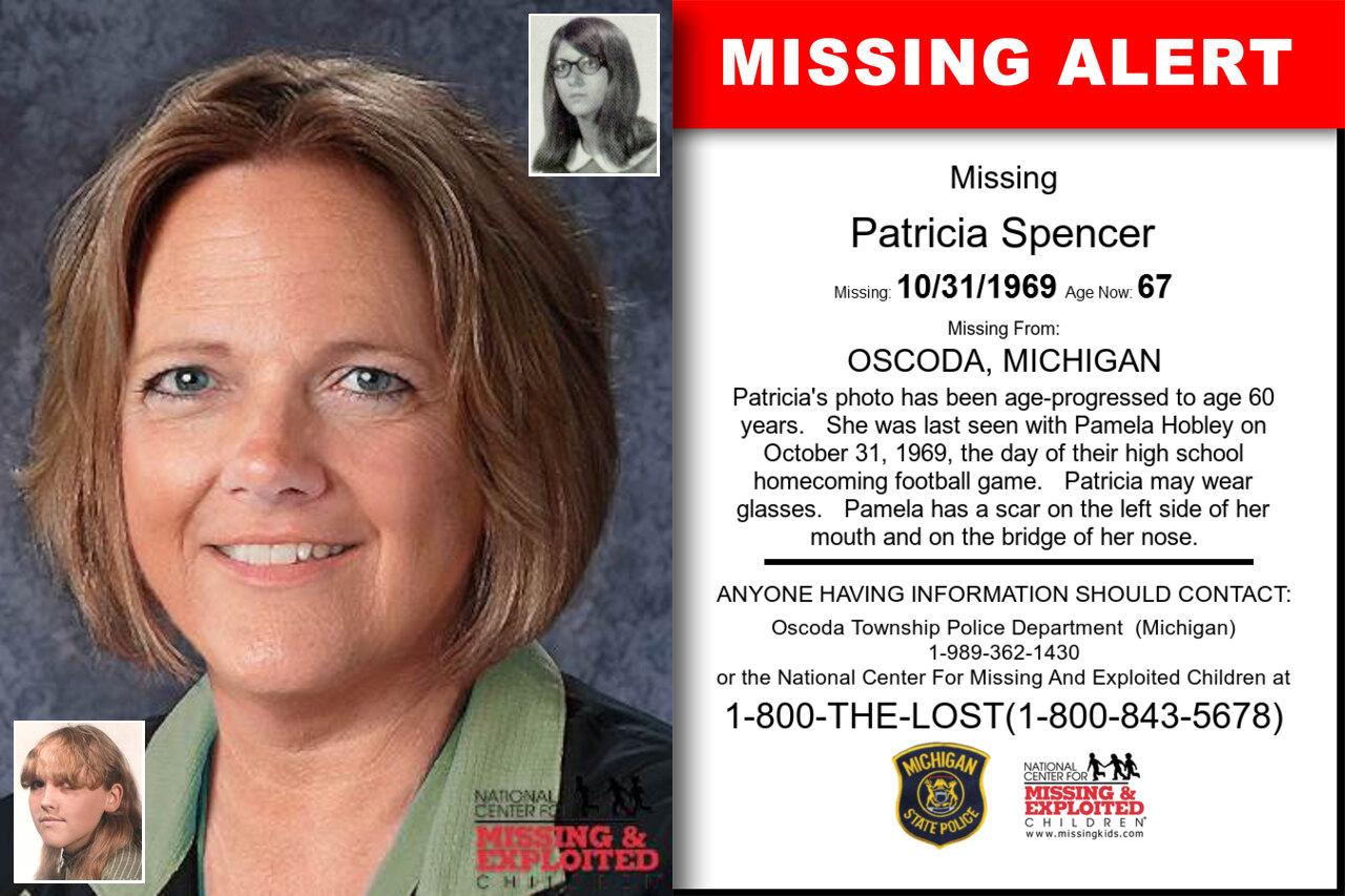 Patricia_Spencer missing in Michigan