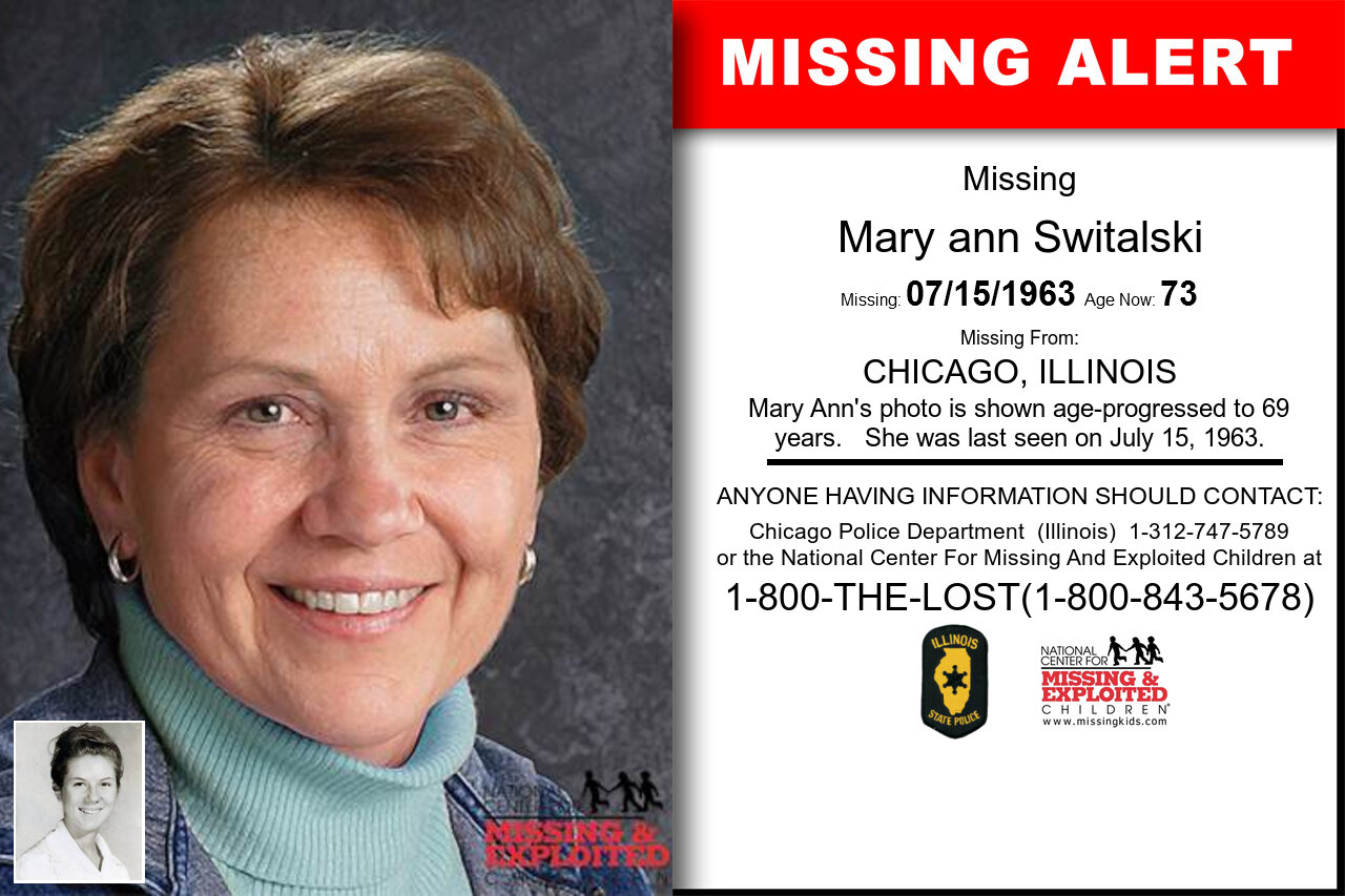 Mary_ann_Switalski missing in Illinois