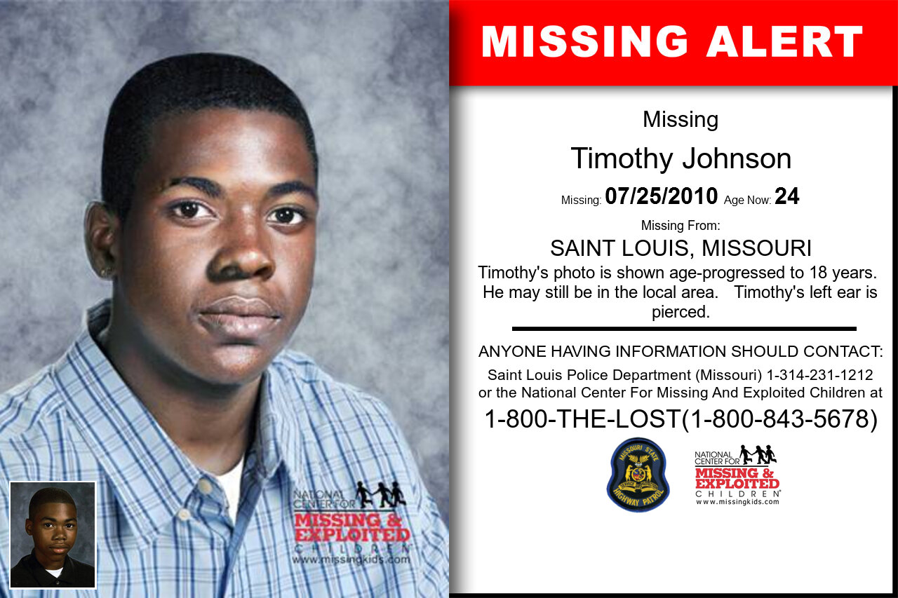 Timothy_Johnson missing in Missouri