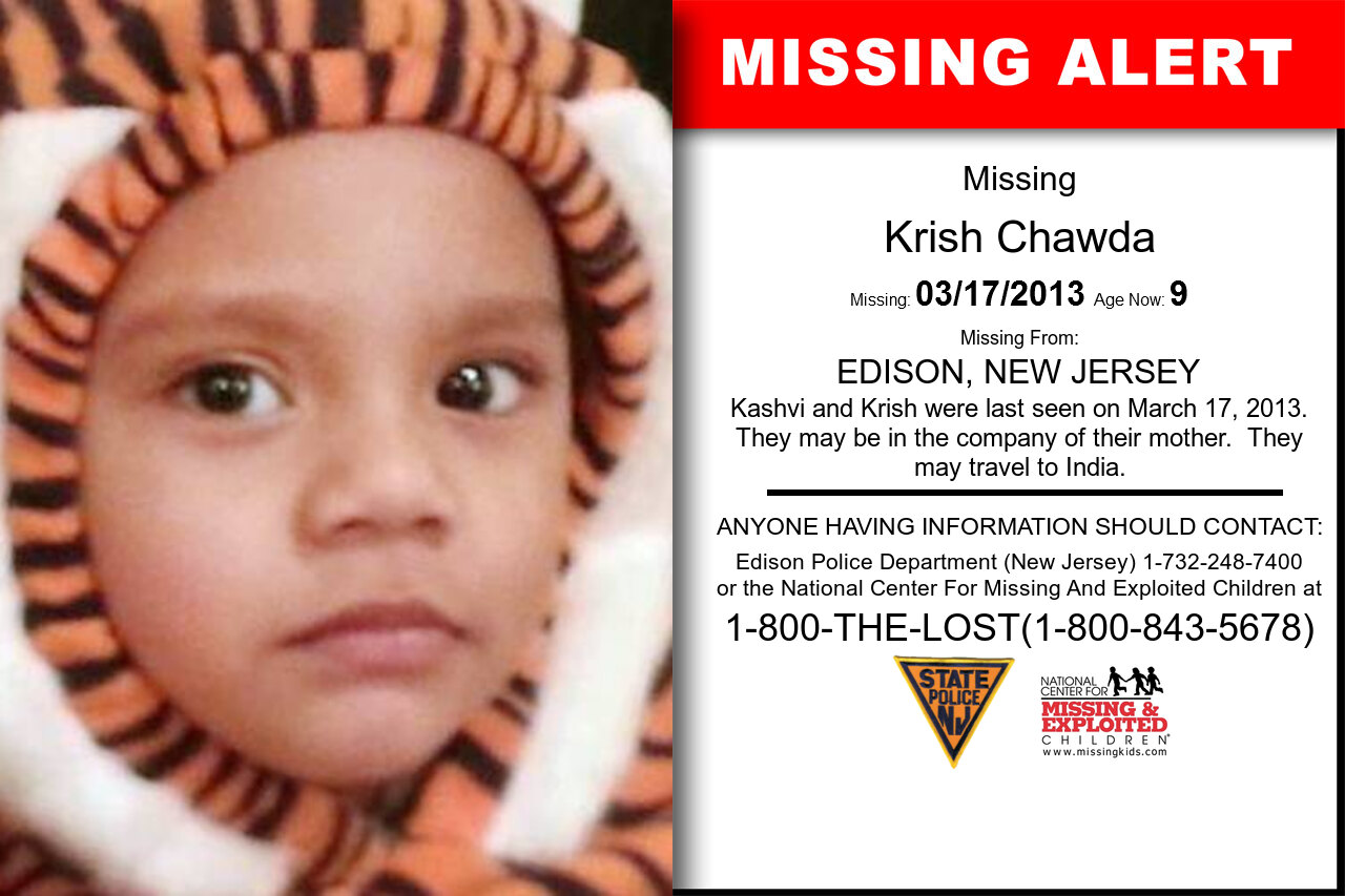 Krish_Chawda missing in New_Jersey