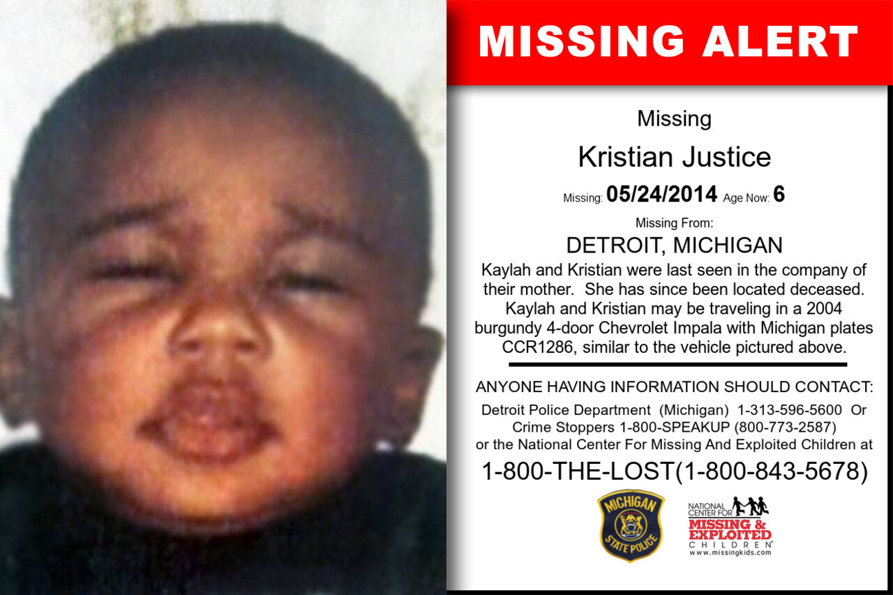 Kristian_Justice missing in Michigan