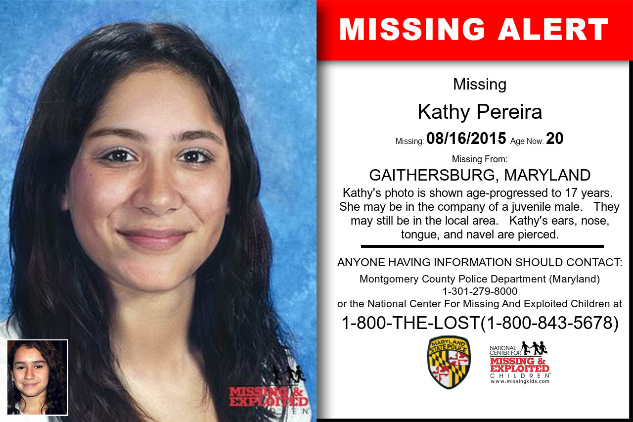 Kathy_Pereira missing in Maryland