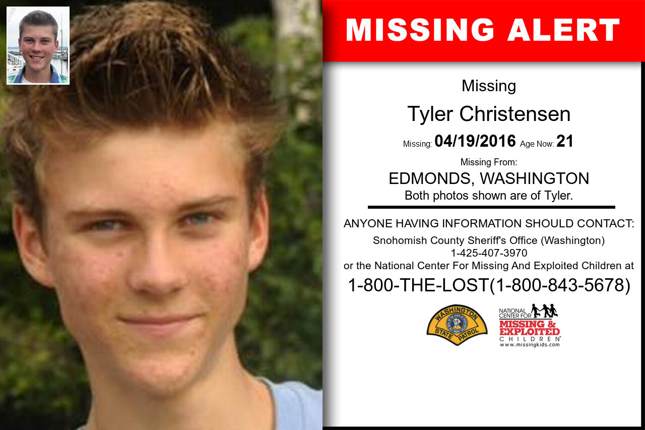 Tyler_Christensen missing in Washington
