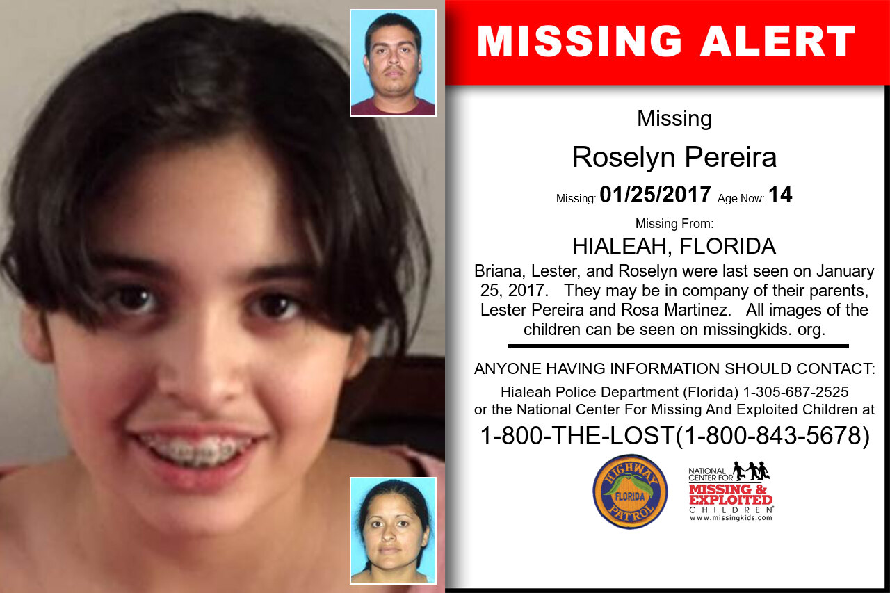 Roselyn_Pereira missing in Florida
