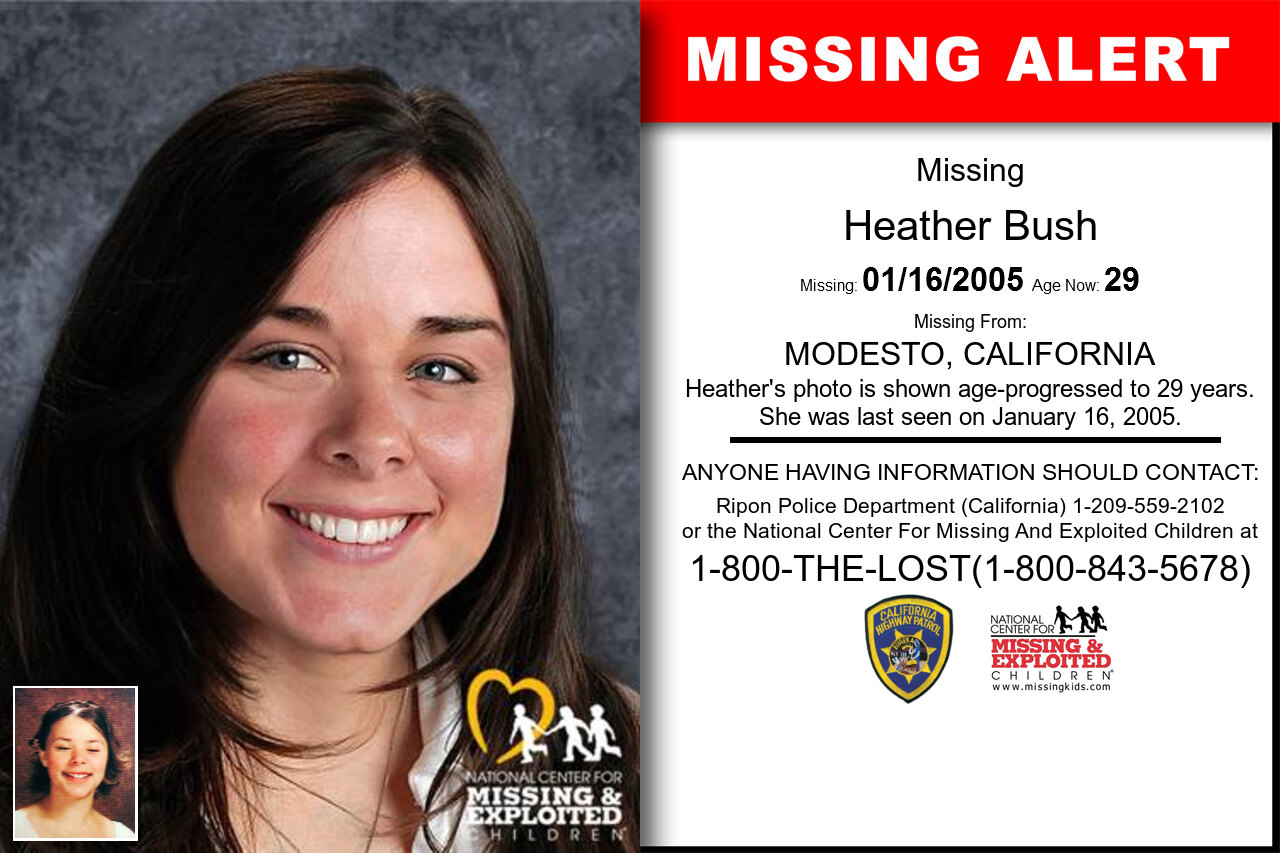 Heather_Bush missing in California