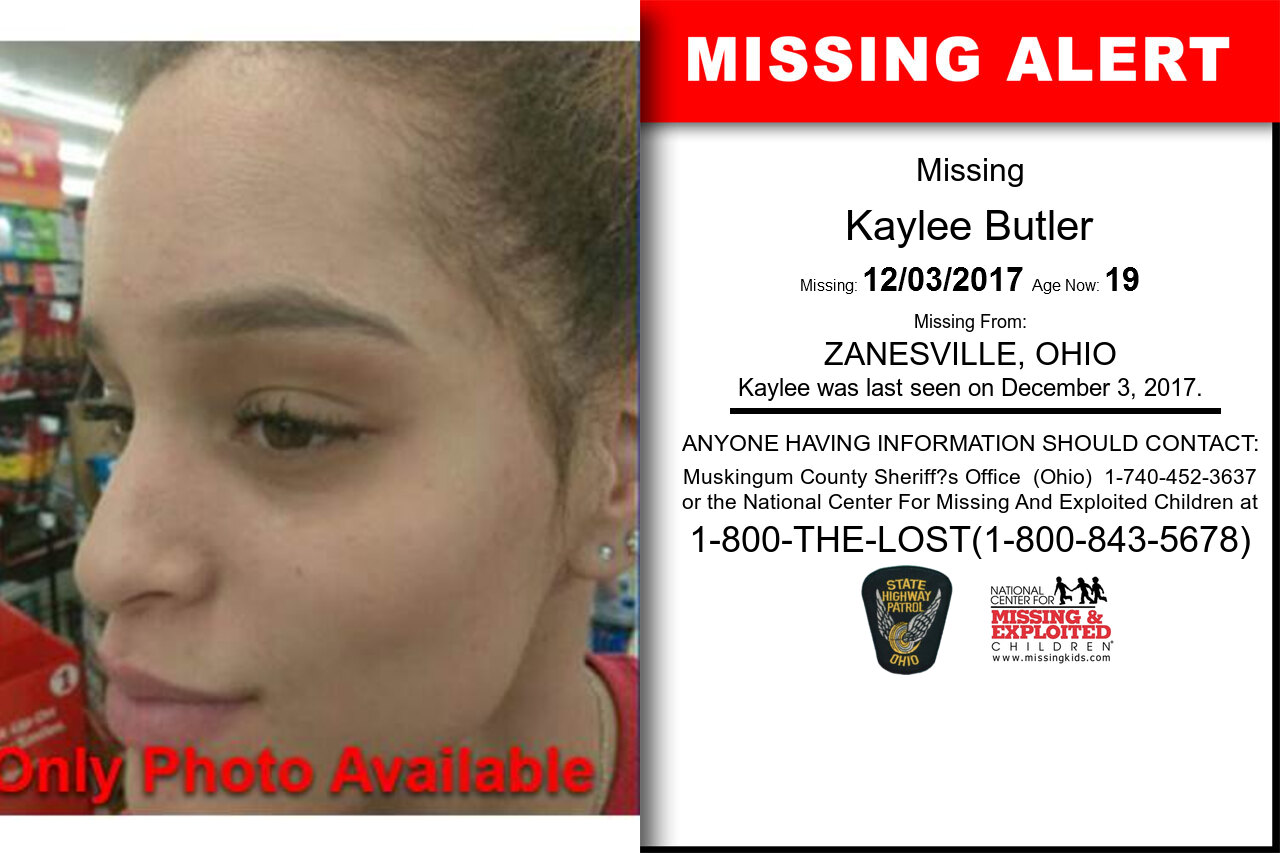 Kaylee_Butler missing in Ohio