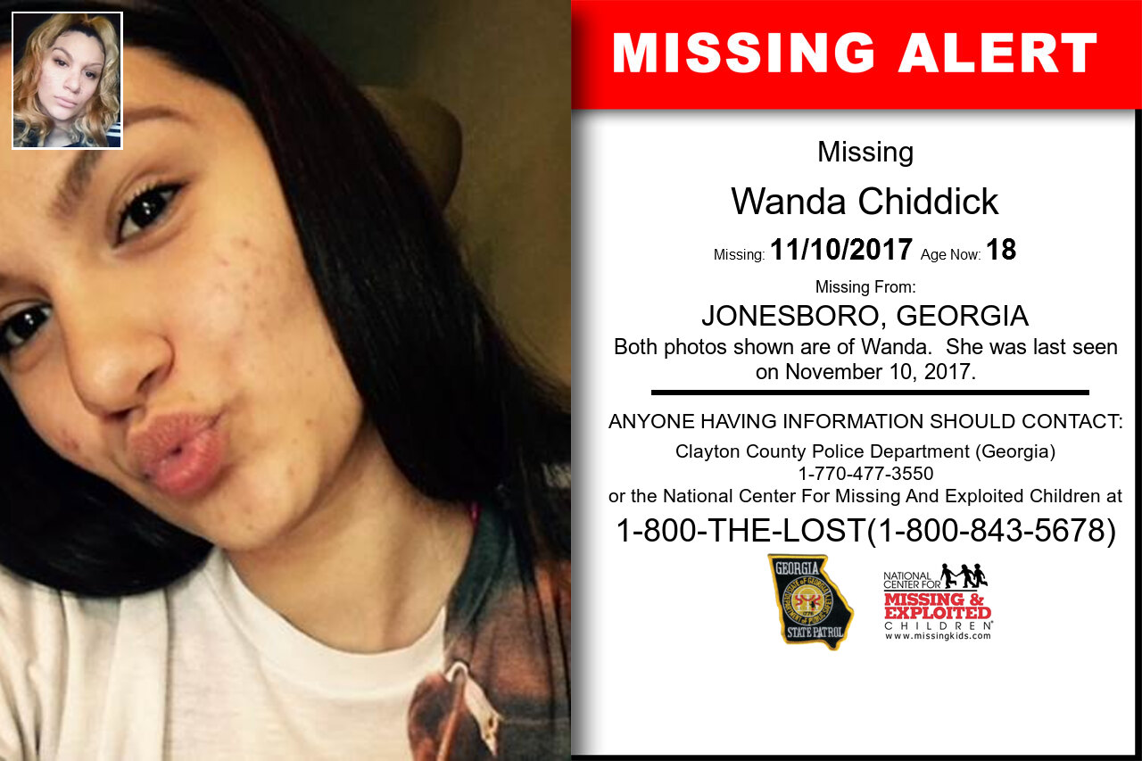 Wanda_Chiddick missing in Georgia