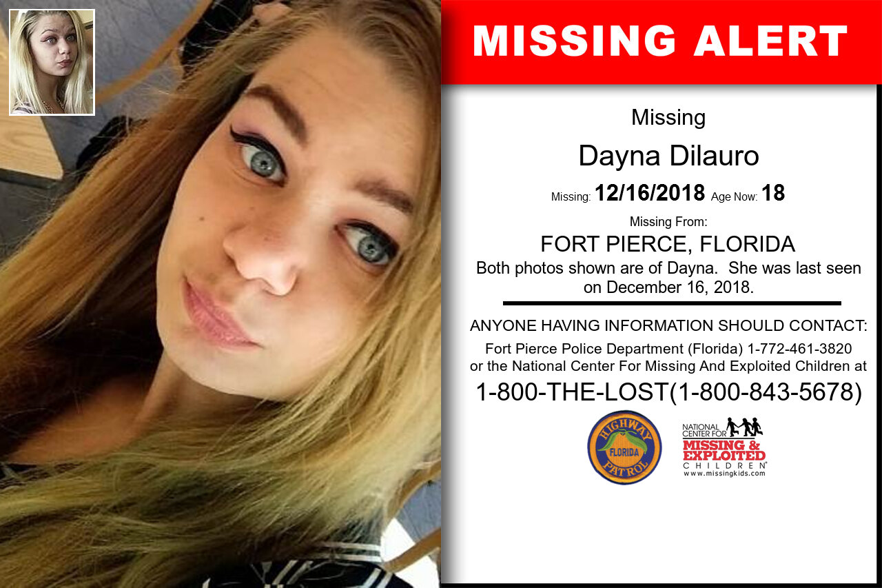 Dayna_Dilauro missing in Florida