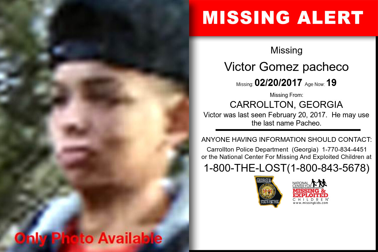 Victor_Gomez_pacheco missing in Georgia