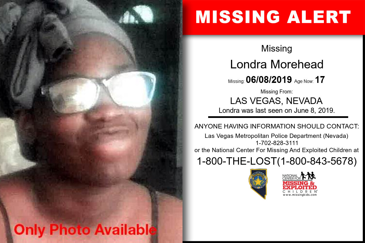 Londra_Morehead missing in Nevada