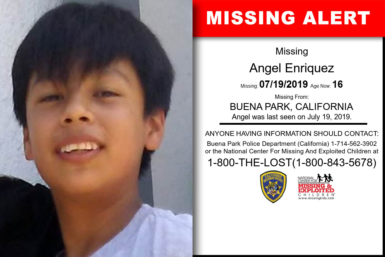 Angel_Enriquez missing in California