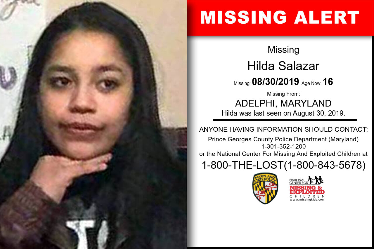 Hilda_Salazar missing in Maryland