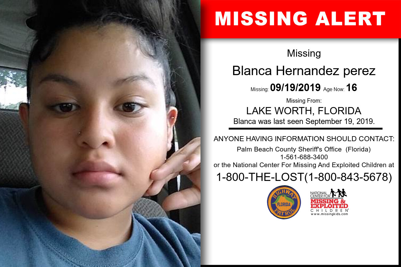 Blanca_Hernandez_perez missing in Florida