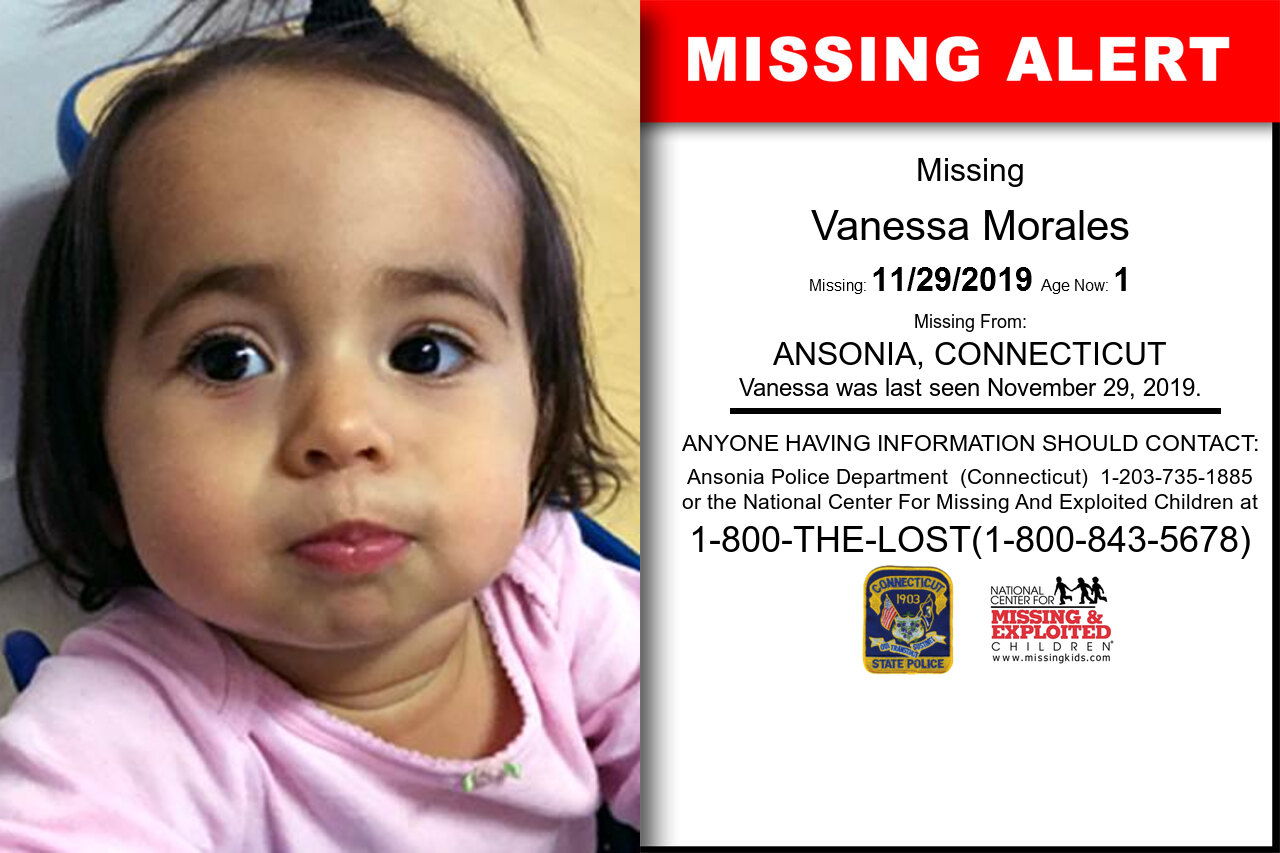 Vanessa_Morales missing in Connecticut