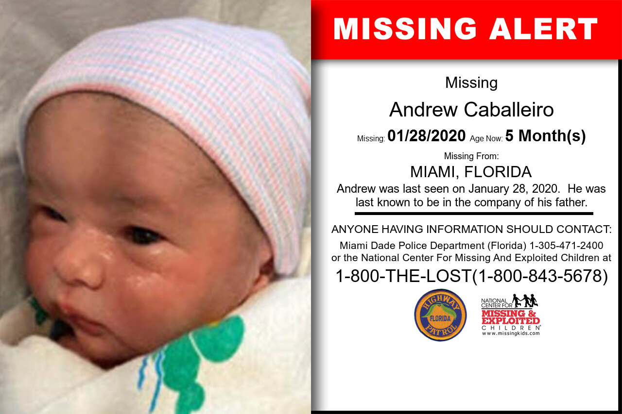 Andrew_Caballeiro missing in Florida