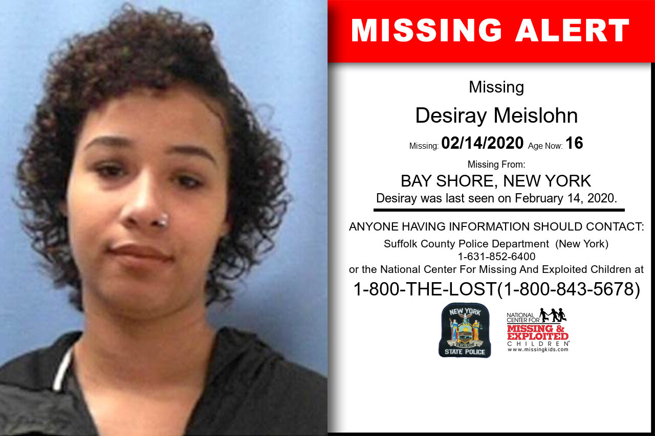 Desiray_Meislohn missing in New_York